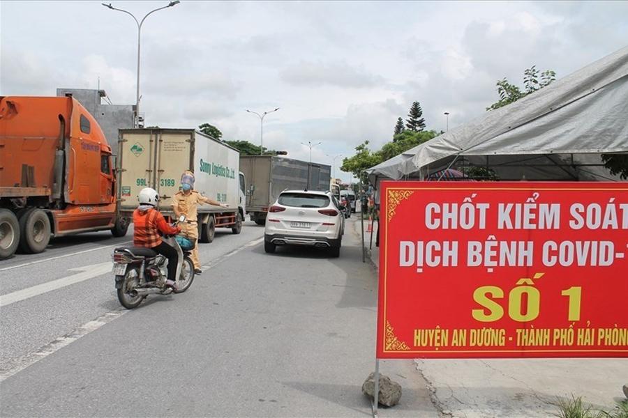 Covid-19 at Hai Phong, Quang Ninh