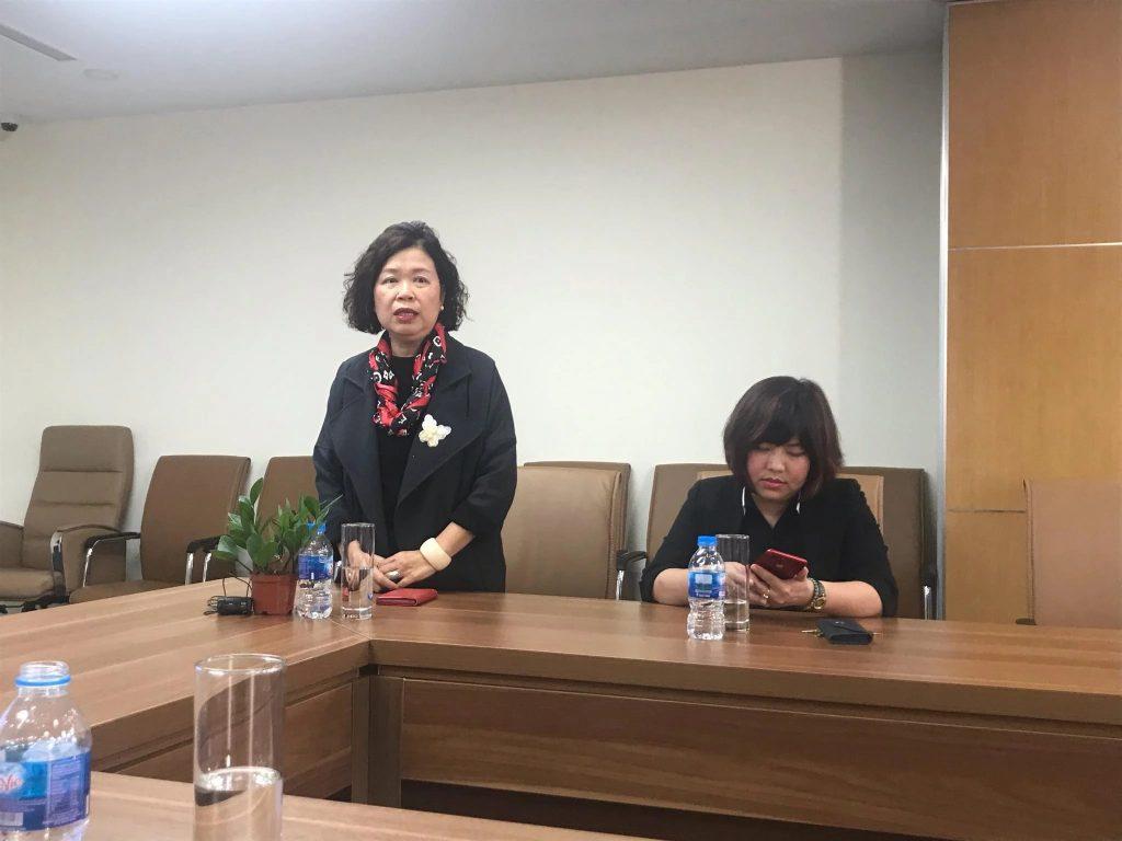 Phó Tổng giám đốc Truyền hình Quốc hội Việt Nam – bà Nguyễn Vĩnh Quyên